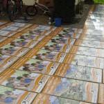 Wahlkampfplakatekleben